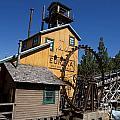 Log Flume Ride Disneyland by Jason O Watson