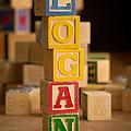 Logan - Alphabet Blocks by Edward Fielding