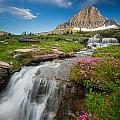 Logan Pass Cascades by Inge Johnsson