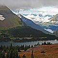 Logan Pass Morning View by Kathleen Scanlan