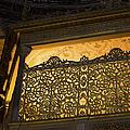 Loge Of The Sultan In Hagia Sophia  by Artur Bogacki