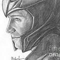 Loki Smirking by Christine Jepsen
