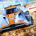 Lola Aston Martin Lmp1 Racing Le Mans Series 2009 by Yuriy  Shevchuk