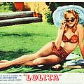 Lolita, Sue Lyon On Lobbycard, 1962 by Everett