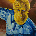 Lon Chaney Jr As Wolfman by Donald Herion
