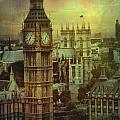 London - Big Ben by Justyna JBJart