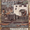London And The Thames 15th C.. Gothic by Everett