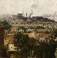 London And The Thames From Greenwich by John Auld