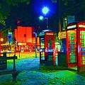 London At Night by Kim Upshaw
