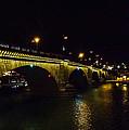 London Bridge Night by Angus Hooper Iii