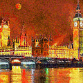 London By Night by George Rossidis