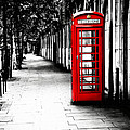 London Calling - Red Telephone Box by Mark E Tisdale