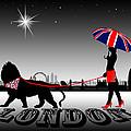 London Catwalk Queen Too by Peter Stevenson