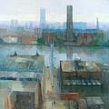 London Cityscape by Steve Mitchell