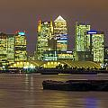 London Docklands by Dawn OConnor