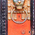 London Doorknocker by Deborah Smolinske