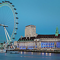 London Eye by Brian Jannsen
