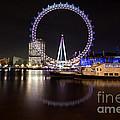 London Eye Night by Matt Malloy