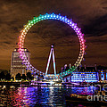 London Eye Pride by Matt Malloy