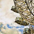 London Eye View by Heather Applegate