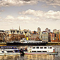 London From Thames River by Elena Elisseeva