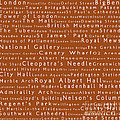 London In Words Toffee by Sabine Jacobs