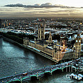 London - Palace Of Westminster by Justyna JBJart