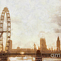 London Skyline At Dusk 01 by Pixel  Chimp