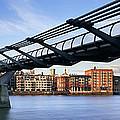 Millennium Bridge London 1 by Rod McLean