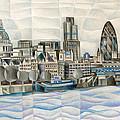 London Skyline by Tiffany Budd
