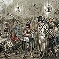 London: Slum, 1821 by Granger