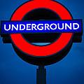 London Underground by Inge Johnsson