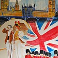 London Vintage Poster by Cool Canvas