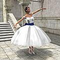 Lone Ballet Dancer by Jayne Wilson