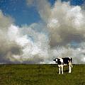 Lone Cow by John K Woodruff