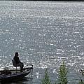 Lone Fisherman by Tina M Wenger