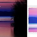 Lone Fisherman  Watersoft Smooth by Randall Branham