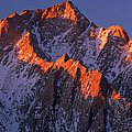 Lone Pine Peak - February by Inge Johnsson
