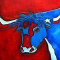 Lone Star Longhorn by Patti Schermerhorn