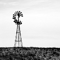 Lone Windmill by Cathy Anderson