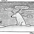 Lone Wolf: by Charles Barsotti