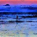 Lonely Fisher by Martin Michael Pflaum