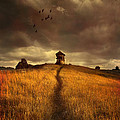 Lonely House On The Hill by Jaroslaw Blaminsky