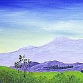 Lonely Mountain by Anastasiya Malakhova
