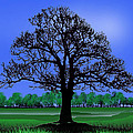 Lonely Old Tree by Peter Stevenson