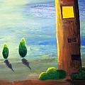 Lonely Tower by Nirdesha Munasinghe
