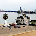 Long Beach Bay California / Tintbrush Effect by Robert Butler