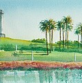 Long Beach Lighthouse by Debbie Lewis