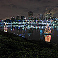 Long Beach Lights by Heidi Smith