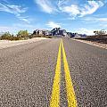 Long Desert Road by Joe Belanger